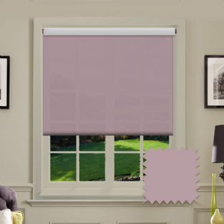 Light Pink Roller Blind - Astral Bossa